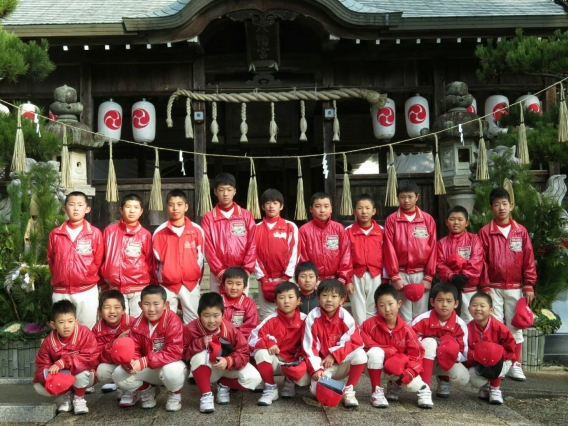 山崎八幡神社祈願2018年1月6日